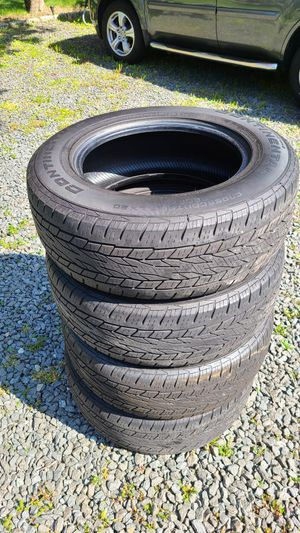 Set of 4 used tires. Continental crosscontact LX20. 245/65/17 for Sale in Valley Cottage, NY