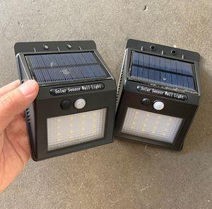 (NEW) $15 Solar LED Lights Wireless Waterproof Security Sensor Lighting (2 pack) for Sale in Whittier, CA