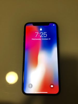 iPhone X 256gb unlocked for Sale in Chino, CA
