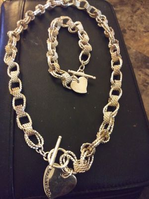 Tiffany necklace and bracelets set for Sale in Baltimore, MD
