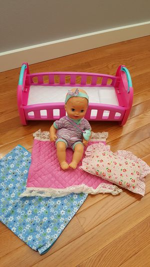 Baby Doll, Bed & Bedding. for Sale in Everett, WA