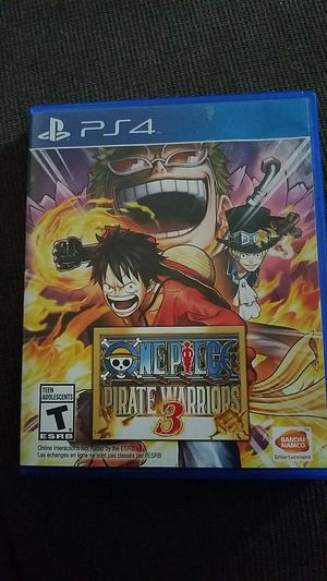 One piece pirate warriors 3 for Sale in Severn, MD