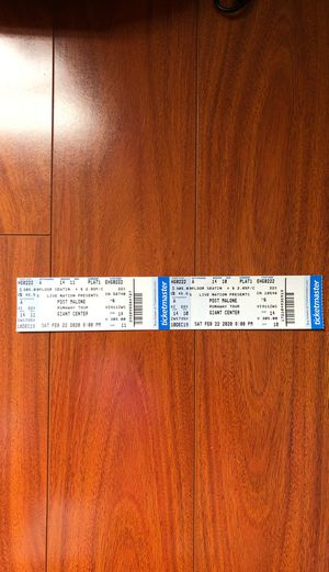 2 Post Malone Hershey / Giant Stadium tickets 2/22/20 for Sale in Harrisburg, PA