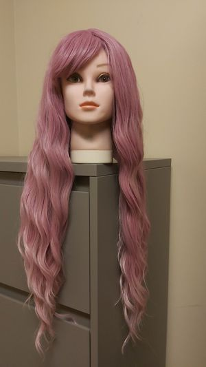 Long pink syntetic hair wig new #148 for Sale in Moreno Valley, CA