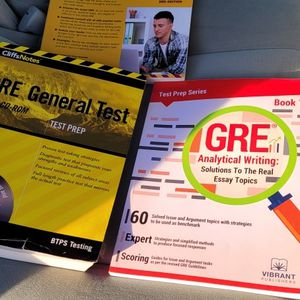 GRE Study Books GREAT Condition for Sale in San Diego, CA