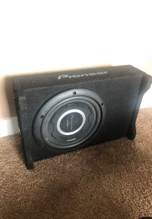 "10"" pioneer sub for Sale in Puyallup, WA"
