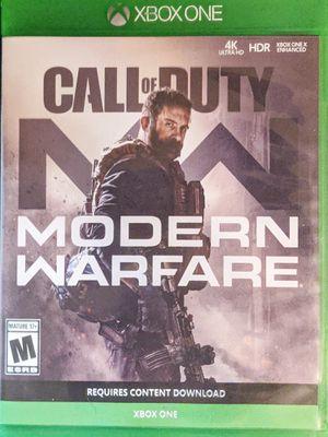 Call of Duty Modern Warfare Xbox One for Sale in Lexington, KY