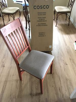 Wooden Folding Dining Room Chairs for Sale in TWN N CNTRY, FL