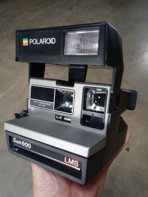 Vintage Polaroid Sun600 LMS Instamatic FILM-TESTED for Sale in Chino, CA