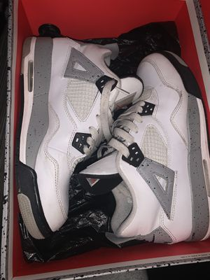 Air Jordan White Cement 4 2016 Size7 for Sale in Lowell, MA