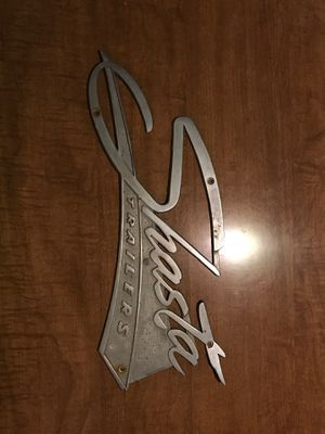Shasta camper emblem - original from 1974 for Sale in St. Cloud, FL
