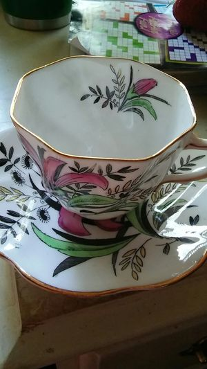 Rosina tea cup & saucer for Sale in Vancouver, WA