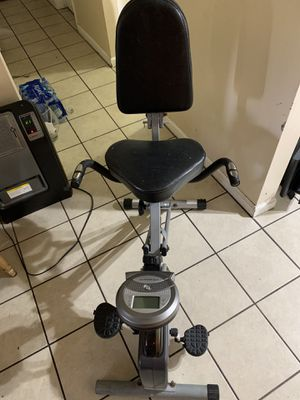 Exerpeutic Folding Foldable Recumbent Exercise Bike for Sale in Irwindale, CA