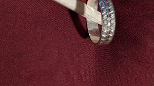 Stamped matching silver rings size 8.5 for Sale in College Park, GA
