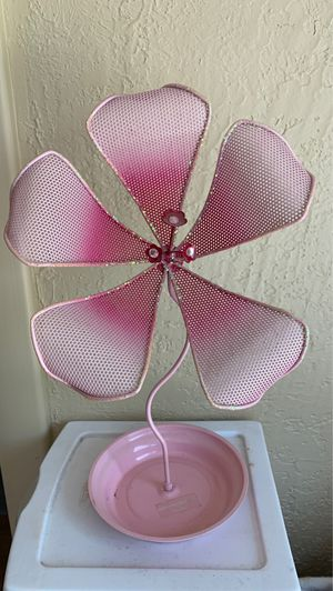Pink Flower Jewelry Holder for Sale in Verona, PA