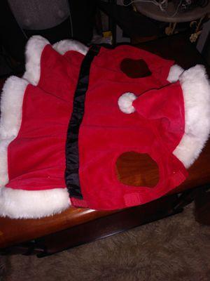 Pet santa outfit S for Sale in Alexandria, VA