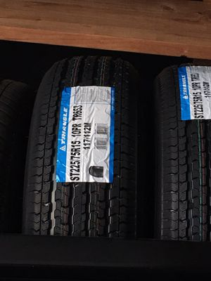BRAND NEW TRAILER TIRES IN STOCK FOR ONLY $395 FOR THE SET OF FOUR!!! for Sale in Puyallup, WA