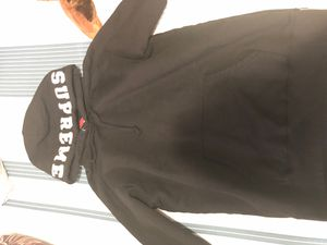 Supreme Paneled Black hoodie Large for Sale in Manassas, VA
