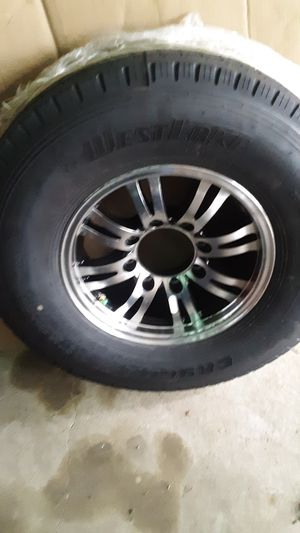 New 5th Wheel Tire + Rim for Sale in Three Rivers, MI