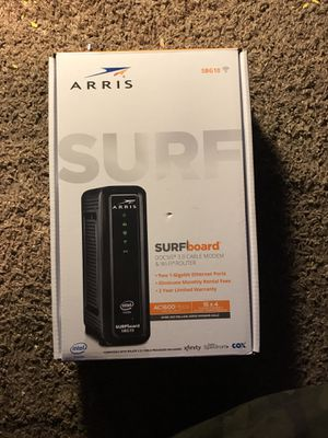 Arris Surfboard DOCSIS 3.0 cable modem & WiFi router for Sale in Las Vegas, NV