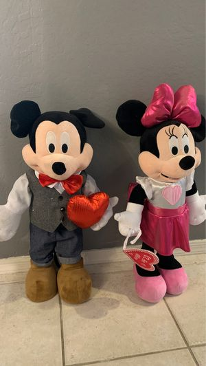 Mickey and Minnie Mouse Dolls for Sale in Gilbert, AZ
