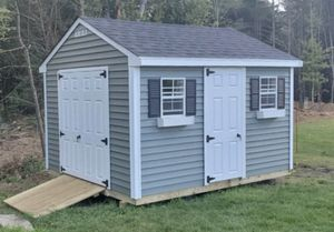 New 10' x 12' Quiet Willow Vinyl Shed for Sale in Rehoboth, MA