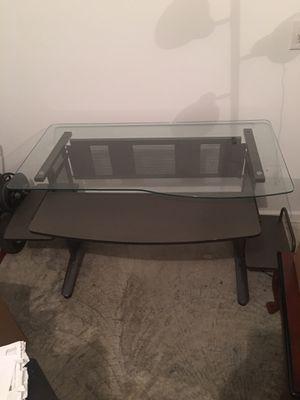 Tempered glass computer desk for Sale in Murfreesboro, TN