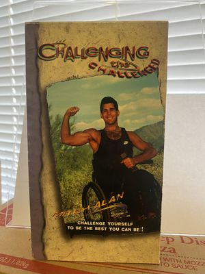 Challenging The Challenged VHS 📼 Vintage for Sale in Albuquerque, NM