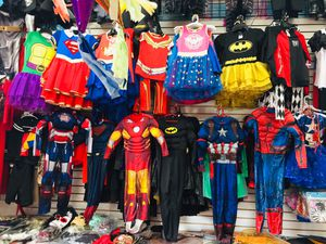 Halloween superheroes 🦸♀️ costumes 🦹♂️🦸♂️🦹♀️kids sizes $30 boys $25 girls for Sale in Los Angeles, CA