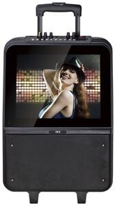 "Portable wi-Fi Karaoke Speaker /15"" LED touch screen MSRP $499.99 for Sale in Manchester, MO"