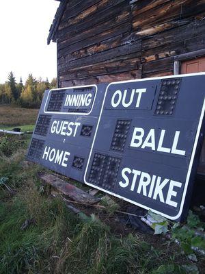 Skowhegan scoreboard for Sale in Willimantic, ME