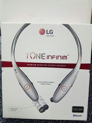 Lg tone infinim Bluetooth headset headphones for Sale in Arlington, TX