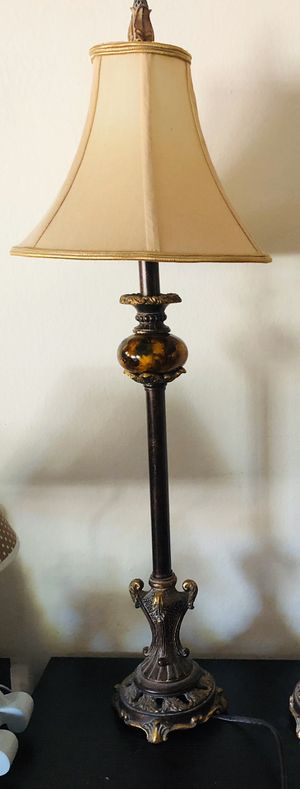 Antique style Bedside Lamp (Pair) for Sale in Brea, CA