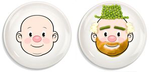 Dishes - Foodface Child Plate for Sale in Colleyville, TX