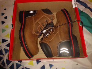 9.5 Steel toe work boots Craftsman for Sale in Desert Hot Springs, CA