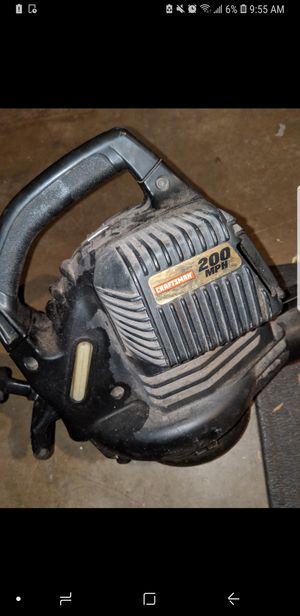 Leaf Blower - Needs carb Cleaning. for Sale in San Diego, CA