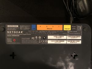 Netgear N750 Dual Band Router for Sale in Portland, OR