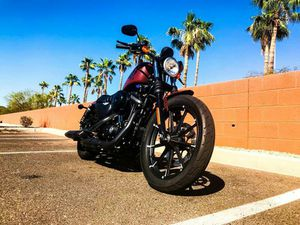 2017 Harley-Davidson Sportster 883 Fabric is leather. Fuel is gas. Drivetrain is RWD. for Sale in Phoenix, AZ