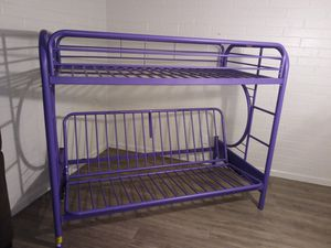Brand new purple bunk bed / futon $100 firm FREE DELIVERY for Sale in Phoenix, AZ