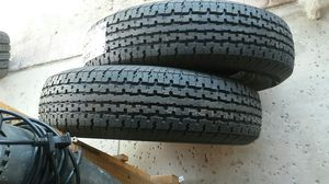 4 new trailer tires 225/75/15 .10 ply. for Sale in Palmdale, CA