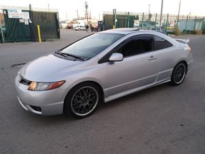 civic SI año2006 TRANSMISION ESTANDAR titulo salvage for Sale in Los Angeles, CA