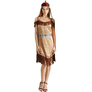 Indian Costume Native Women American Dress with Headband for Sale in Houston, TX