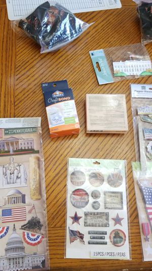 SCRAP BOOK/STAMPS/PAPER -NAME PRICE for Sale in Virginia Beach, VA