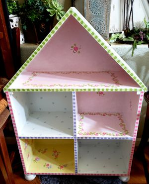 """POTTERY BARN DOLL PLAY HOUSE SOLID WOOD 5 ROOMS, 3 LEVELS , 30""""×12""""×45""""H for Sale in Arvada, CO"""