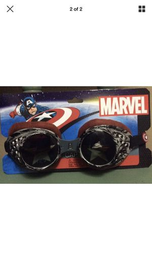 Marvel The Avengers CAPTAIN AMERICA RADIOACTIVE GOGGLES superhero costume for Sale in Milwaukie, OR