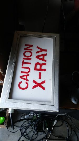 Vintage x ray light for Sale in Moreno Valley, CA