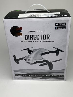 Protocol Director Foldable Drone With Live Streaming Camera for Sale in Orlando, FL
