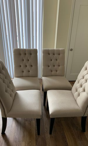 Set of 4 new custom made dining chairs for Sale in Rochester, MN