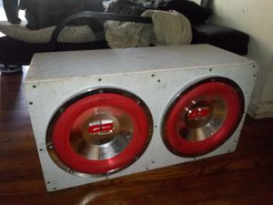 C&S redline 12 inch speakers in subwoofer box for Sale in MD, US