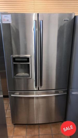 BLOWOUT SALE!Kenmore Refrigerator Fridge French Door 3-Door Free Delivery #1533 for Sale in Glen Burnie, MD